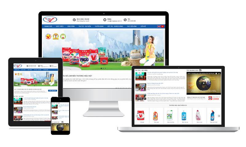 website gioi thieu cong ty vico